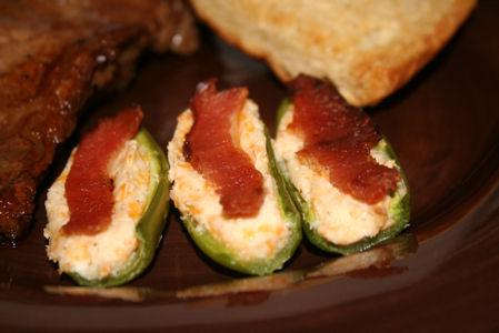 Bacon Wrapped Cajun Jalapenos