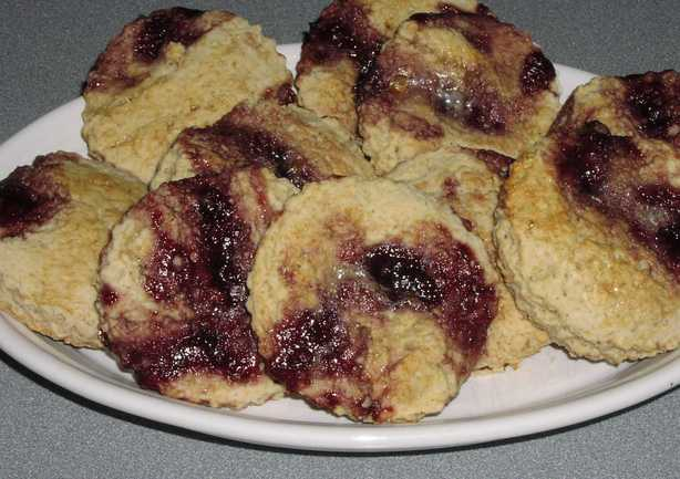 Blackberry Scones (Ww)