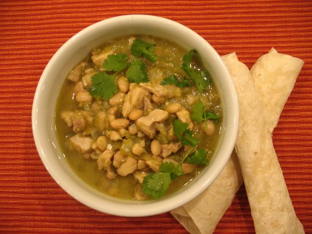 Chicken Tomatillo Chili