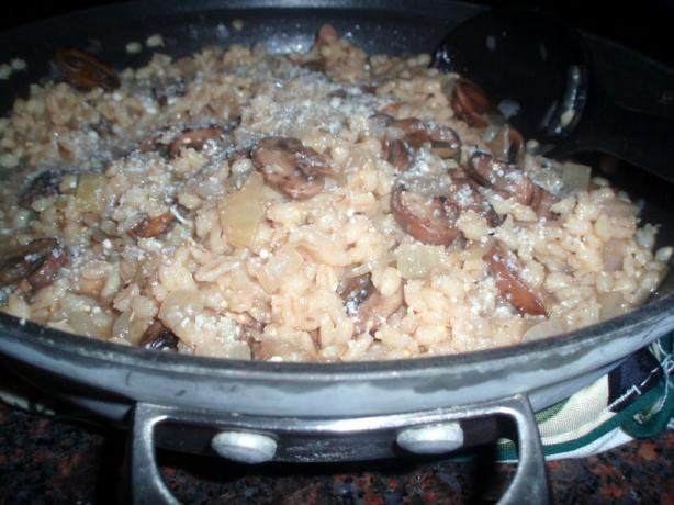 Portabella Mushrooms With Barley
