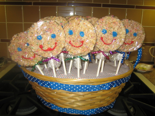 Rice Krispy Pops