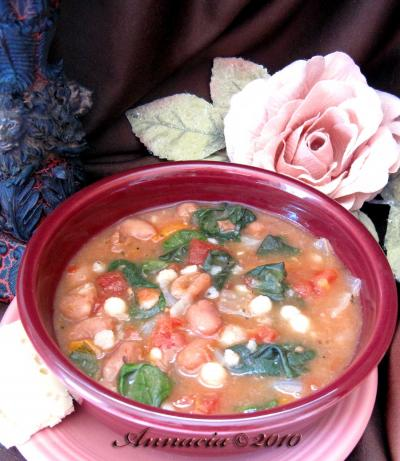 Spinach Minestrone