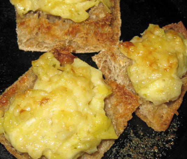 Artichoke Parmesan Canapes