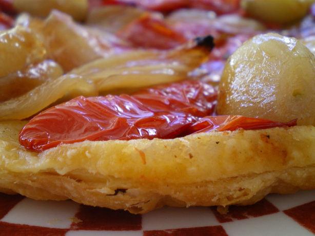 Tarte Renversée Aux Tomates Séchées (Upsid