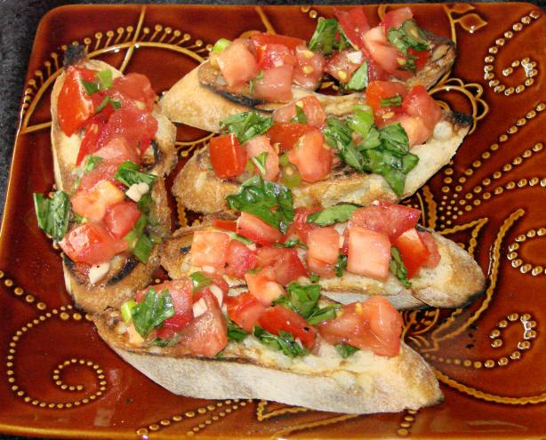 Vodka Tomato Bruschetta