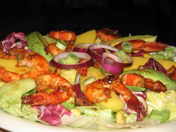 Bobby Flay's Shrimp With Barbecue Spices