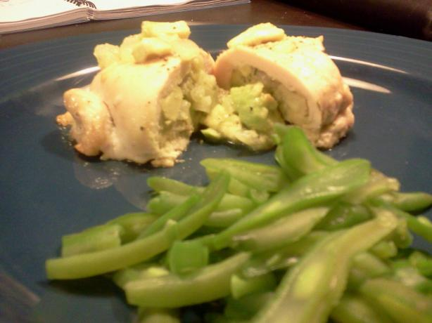 Avocado Stuffed Chicken
