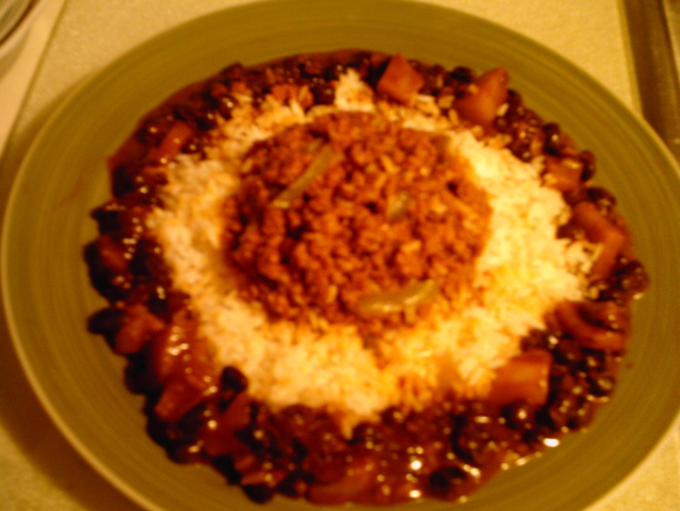 Flavorful Beef, Peppers, and Onions With White Rice