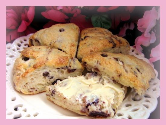 The Bistro's Cherry Scones