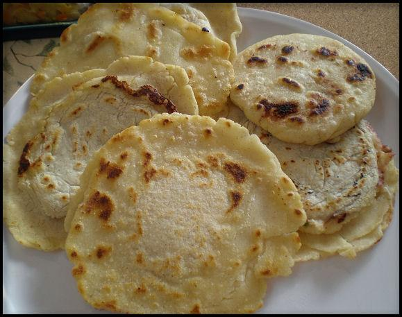 Authentic Salvadorean Pupusas