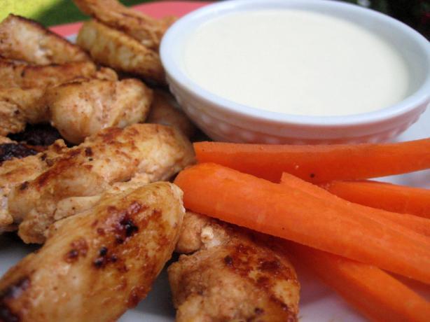 """Bea's Buffalo Chicken """"wings"""" (White Meat)"""