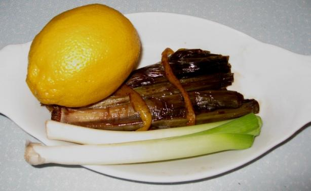 Sweet-And-Sour Green Onions (Microwave)