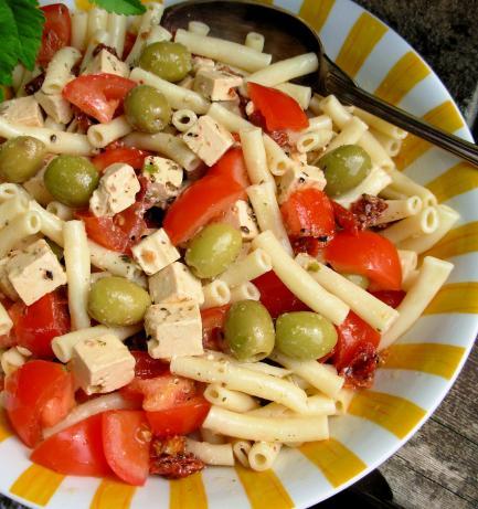 Mediterranean-Style Pasta Salad