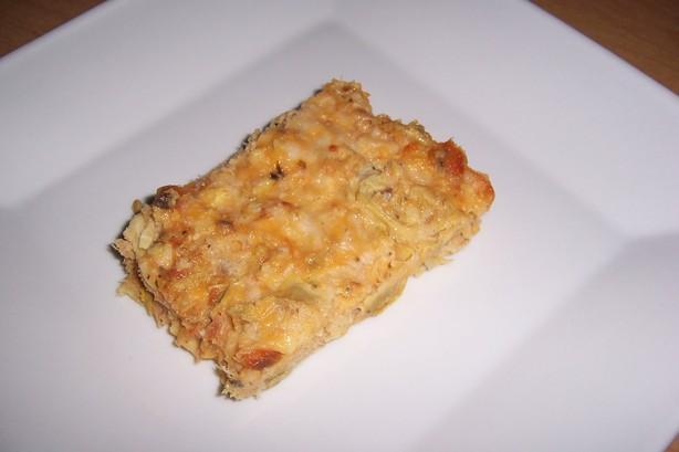 Salmon Artichoke Bake