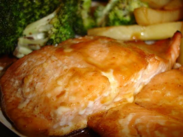 Honey-Glazed Salmon Fillets