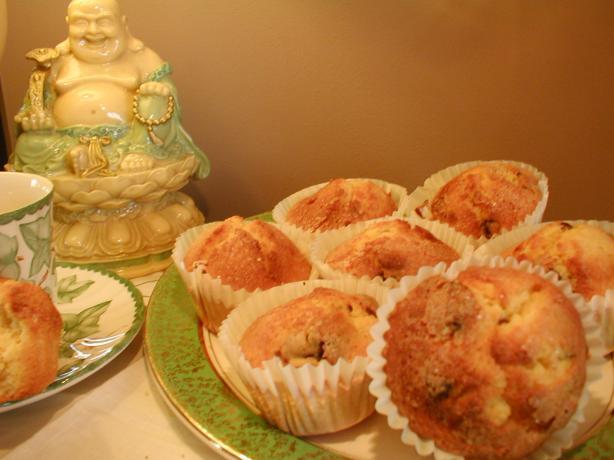 Sugar Free Orange Polenta Muffins