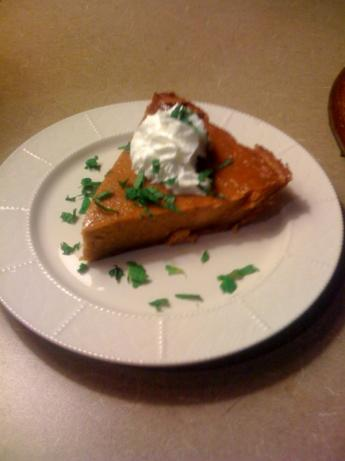 Amazing Real Pumpkin Pie