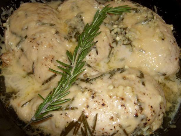 Rosemary Parmesan Crusted Chicken