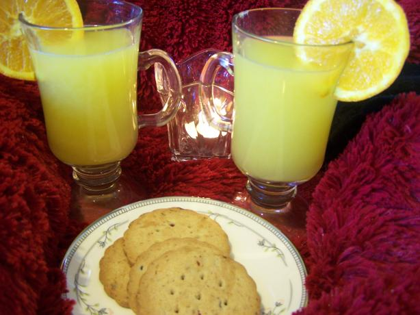 Warm Pineapple Orange Beverage