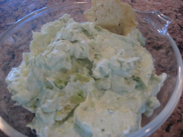 Avocado-Cream Cheese Dip