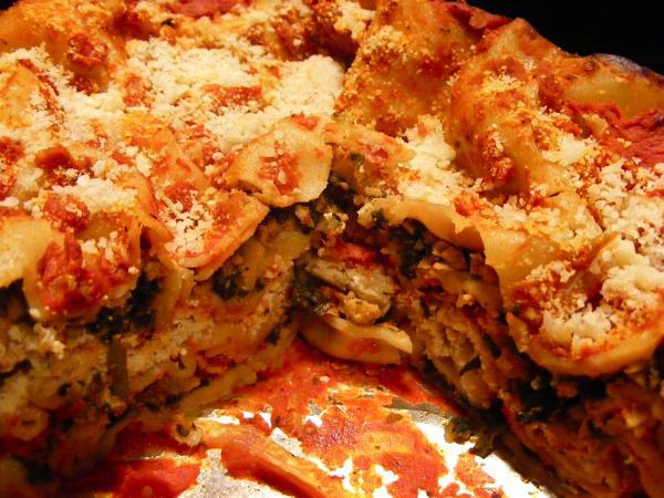Recipe Makeover-Vegan Lasagna