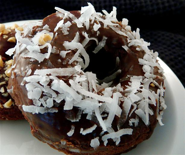 Baked Double Chocolate Donuts (Gluten Free)