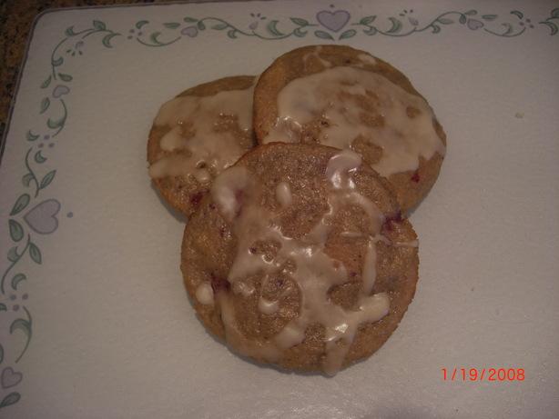 Orange-Raspberry Muffin Tops