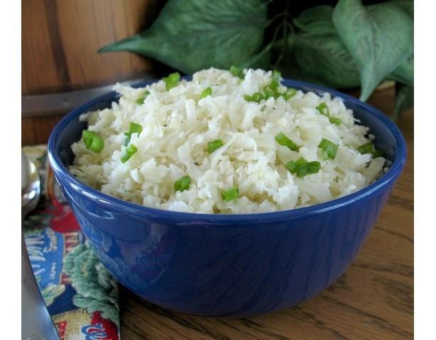 """Cauli-Flied/Cauliflower """" Rice """""""