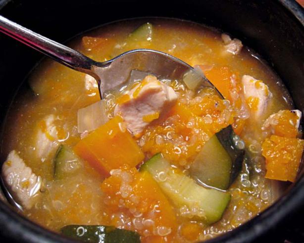 Squash-Quinoa Soup