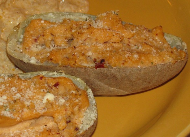 Chipotle-Baked Stuffed Potatoes