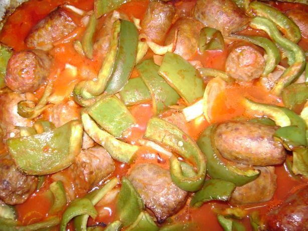 Ny Style Sausage With Peppers