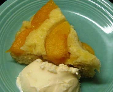 Low-Fat Peach Upside Down Cake