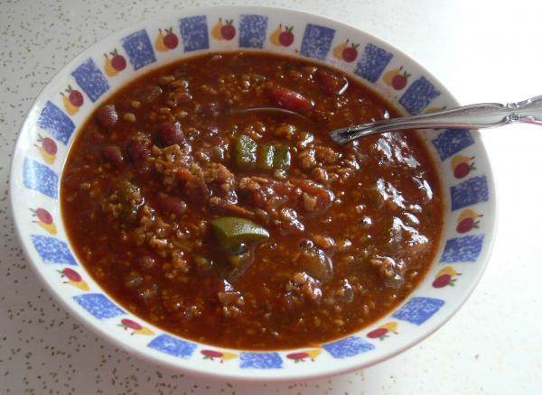 Tvp Taco Chili