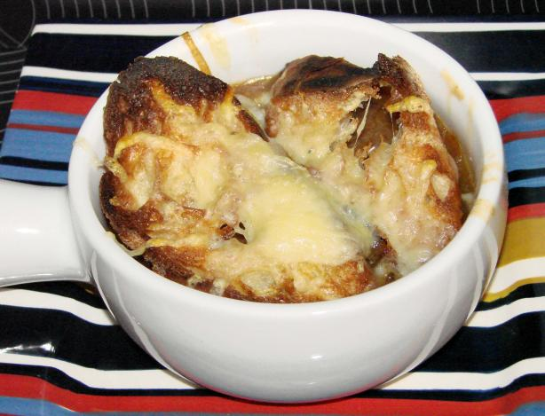 Dora's Rich French Onion Soup