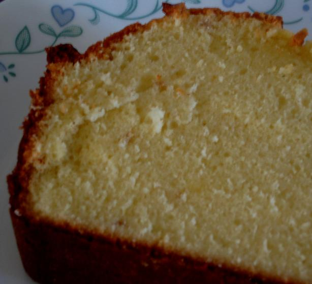 George Washington Pound Cake