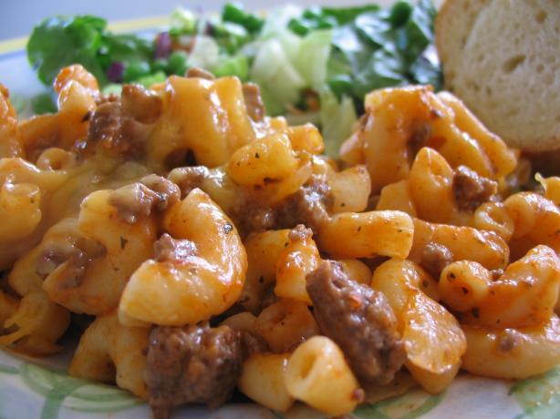 Beef and Macaroni Casserole