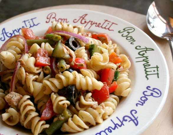 Rotini Salad Nicoise (Light)
