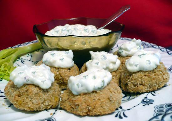 Crab Cakes With Herbed Mayonnaise