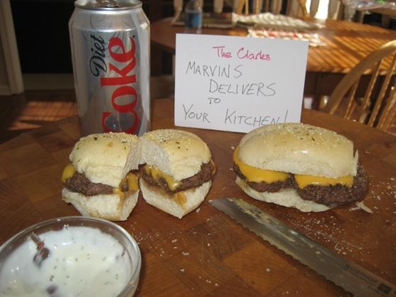 Marvin's Gcb Mini's (Garlic Cheeseburgers)