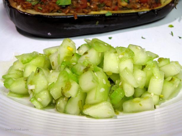 Burmese Cucumber Salad
