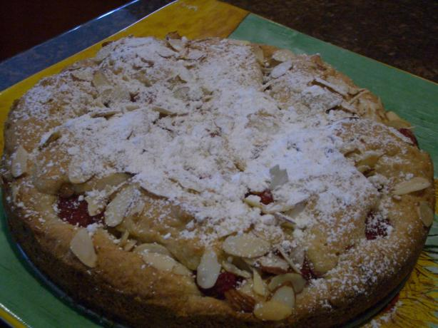 Mixed Berry Almond Cake