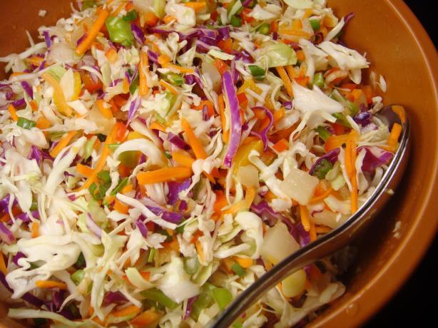 Crisp Coleslaw Confetti Salad