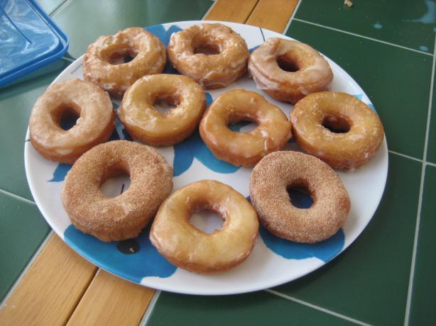 Applesauce Doughnuts/Donuts