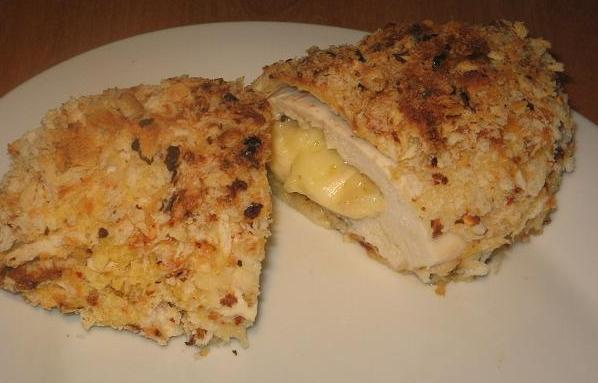 Zesty Cheesy Crumbed Chicken