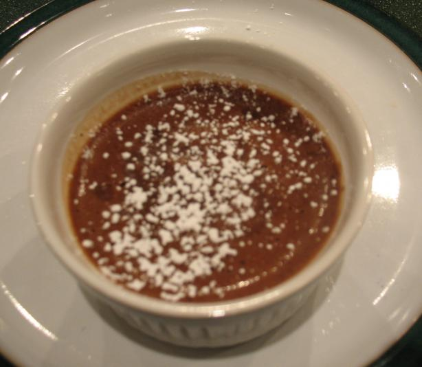 Chocolate Mascarpone Pudding