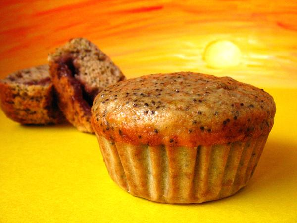 Sunrise Poppy Seed Muffins