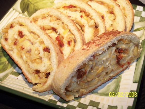 Tomato-Artichoke Bruschetta Bread