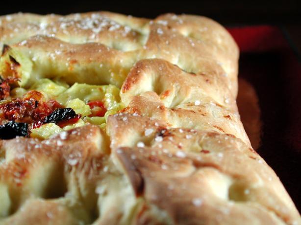Artichoke, Tomato and Asiago Focaccia