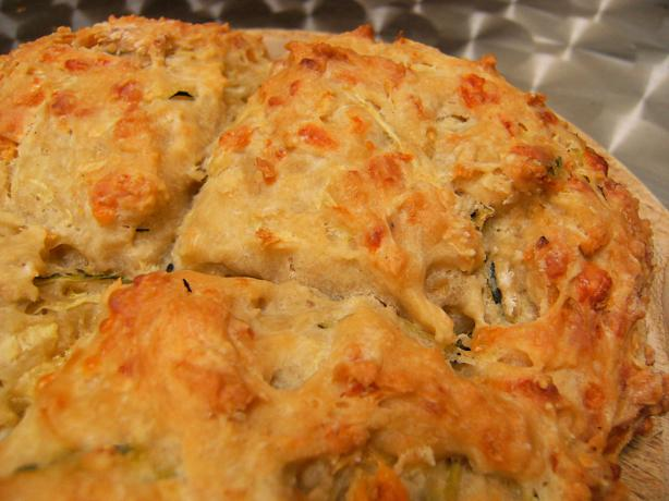 Zucchini and Cheese Damper