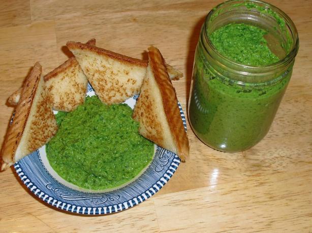 Mustard Greens Pesto